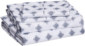 Damask Grey Sheet Sets - Tapestry Girls