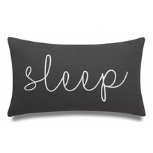 Load image into Gallery viewer, Grey Sleep Pillow - Tapestry Girls