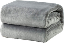 Load image into Gallery viewer, Grey Fleece Blanket - Tapestry Girls