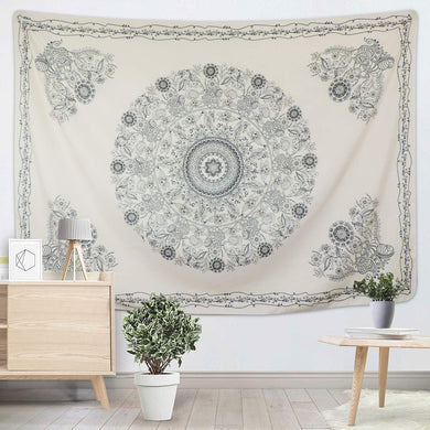 Ghost Mandala Tapestry - Tapestry Girls