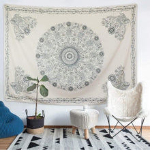 Load image into Gallery viewer, Ghost Mandala Tapestry - Tapestry Girls