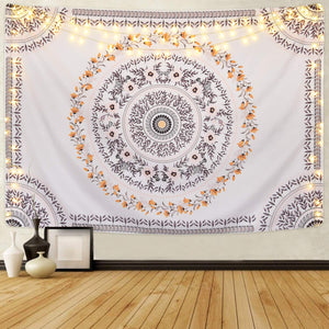 Hippie Floral Tapestry - Tapestry Girls