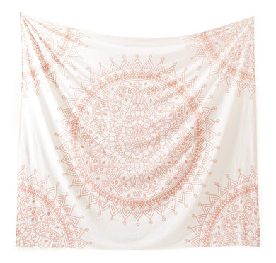 Hippie Rose Gold Tapestry - Tapestry Girls