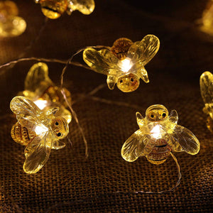 Decorative Honey Bee Lights - Tapestry Girls