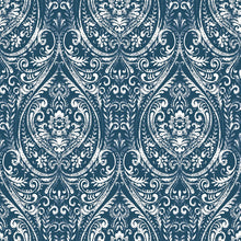 Load image into Gallery viewer, Indigo Removable Wallpaper - Tapestry Girls