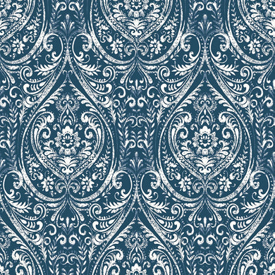 Indigo Removable Wallpaper - Tapestry Girls