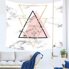 Load image into Gallery viewer, The Ivory Triangle Tapestry - Tapestry Girls
