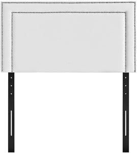 Jasmine White Studded Headboard - Tapestry Girls