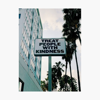 Treat People with Kindness Poster - Tapestry Girls