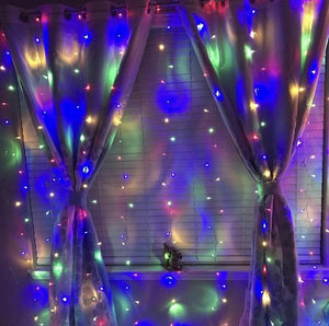 Rainbow Curtain LED Lights - Tapestry Girls