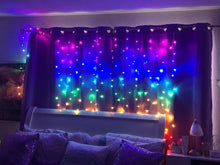 Load image into Gallery viewer, Rainbow Curtain LED Lights - Tapestry Girls