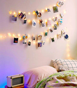 20 LED Photo Clips - Tapestry Girls