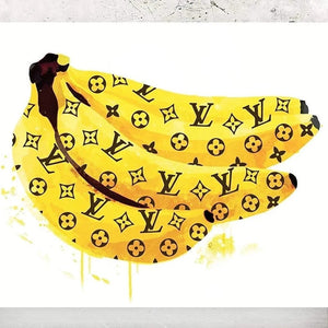 Louis Vuitton Banana Poster - Tapestry Girls