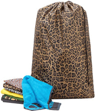 Load image into Gallery viewer, Leopard Laundry Bag - Tapestry Girls
