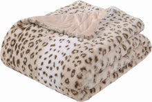 Load image into Gallery viewer, Leopard Fleece Blanket - Tapestry Girls