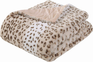 Leopard Fleece Blanket - Tapestry Girls