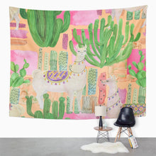 Load image into Gallery viewer, Llama Tapestry - Tapestry Girls