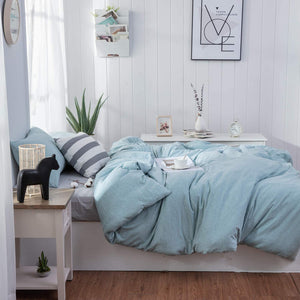 The Loft Aqua Bed Set - Tapestry Girls