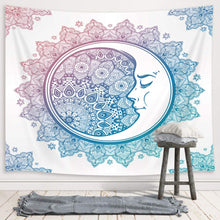 Load image into Gallery viewer, Mandala Moon Tapestry - Tapestry Girls