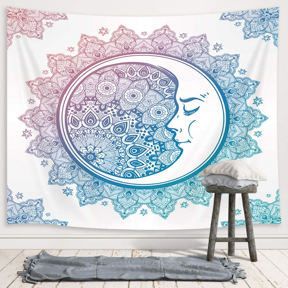 Mandala Moon Tapestry - Tapestry Girls