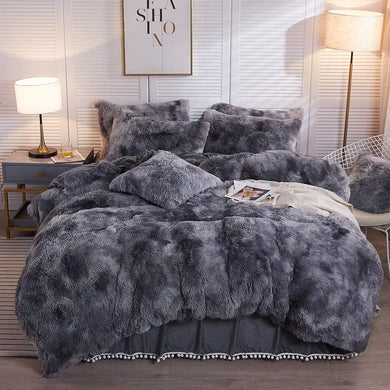The Softy Marble Gray Bed Set - Tapestry Girls