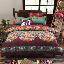 Load image into Gallery viewer, Maroon Bohemian Bedding - Tapestry Girls
