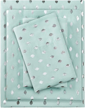 Load image into Gallery viewer, Metallic Aqua Sheet Sets - Tapestry Girls