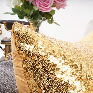 Metallic Gold Pillows - Tapestry Girls