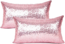 Load image into Gallery viewer, Metallic Pink Pillows - Tapestry Girls