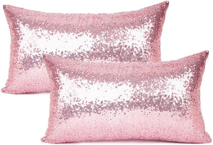 Metallic Pink Pillows - Tapestry Girls