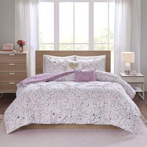 The Metallic Plum Bed Set - Tapestry Girls