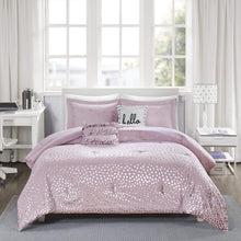 Load image into Gallery viewer, The Metallic Purple Bed Set - Tapestry Girls