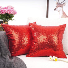 Load image into Gallery viewer, Metallic Red Pillows - Tapestry Girls