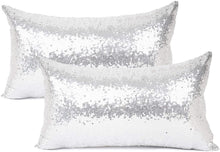 Load image into Gallery viewer, Metallic Silver Pillows - Tapestry Girls