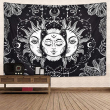 Load image into Gallery viewer, Midnight Moon Tapestry - Tapestry Girls