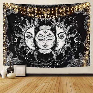 Midnight Moon Tapestry - Tapestry Girls