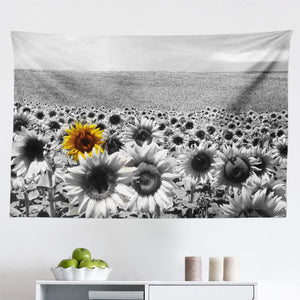Mini Sunflower Landscape Tapestry - Tapestry Girls