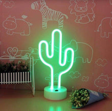 Load image into Gallery viewer, 12 Inch Mini Neon Cactus - Tapestry Girls