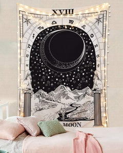 Tarot Moon Tapestry - Tapestry Girls