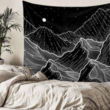 Load image into Gallery viewer, Mountain Night Tapestry - Tapestry Girls