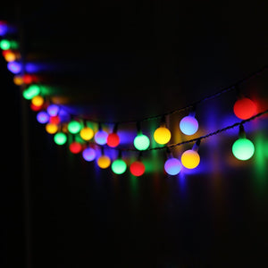 Seasonal Multicolor Lights - Tapestry Girls