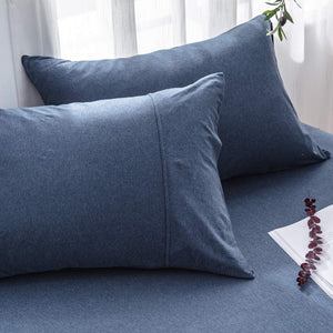 The Loft Navy Pillow Case Set - Tapestry Girls