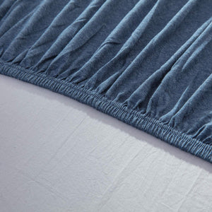 The Loft Navy Fitted Sheet Set - Tapestry Girls