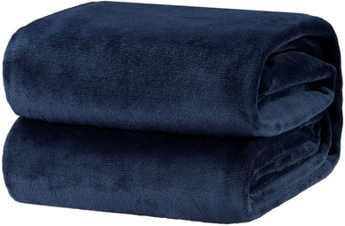 Navy Fleece Blanket - Tapestry Girls