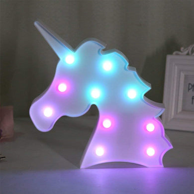 Neon Unicorn Light - Tapestry Girls