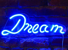 Load image into Gallery viewer, Dream Neon Sign - Tapestry Girls