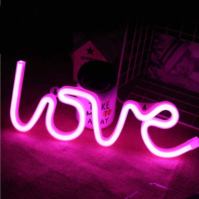 Love Neon Sign - Tapestry Girls