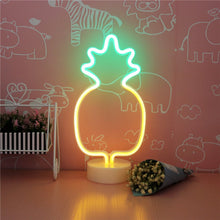 Load image into Gallery viewer, 12 Inch Mini Neon Pineapple - Tapestry Girls