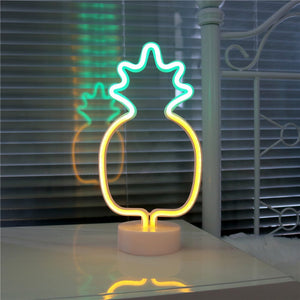 12 Inch Mini Neon Pineapple - Tapestry Girls