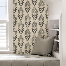 Load image into Gallery viewer, Neutral Tulip Removable Wallpaper - Tapestry Girls
